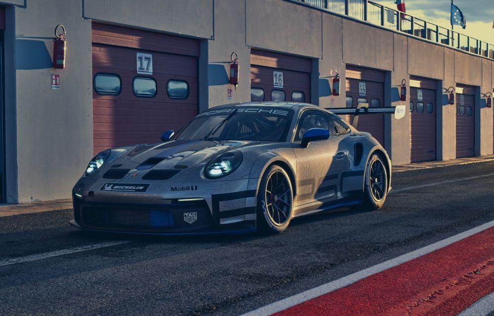 Porsche a prezentat noul 911 GT3 Cup: modelul de competiții oferă aproximativ 510 CP și 470 Nm - Poza 6