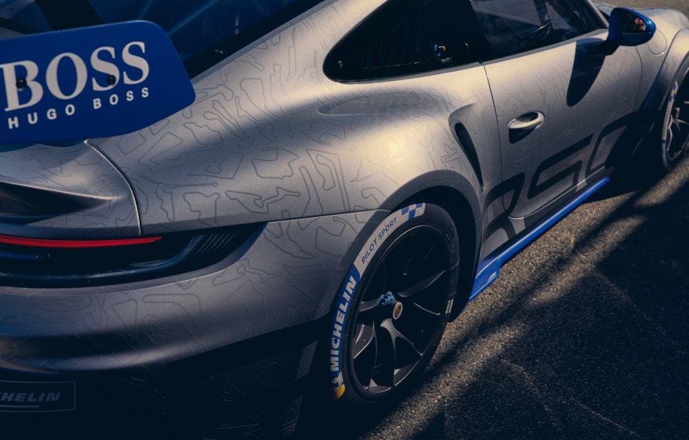 Porsche a prezentat noul 911 GT3 Cup: modelul de competiții oferă aproximativ 510 CP și 470 Nm - Poza 12