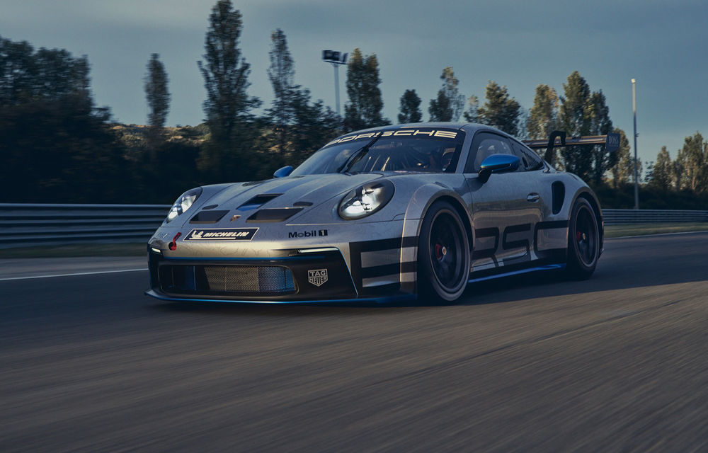 Porsche a prezentat noul 911 GT3 Cup: modelul de competiții oferă aproximativ 510 CP și 470 Nm - Poza 1