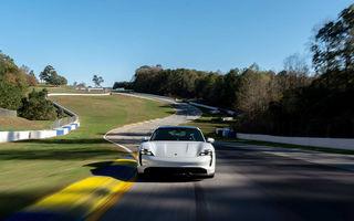 Porsche Taycan a devenit cel mai rapid model electric de pe circuitul Road Atlanta: un minut și aproape 34 de secunde pentru cei 4 kilometri ai traseului