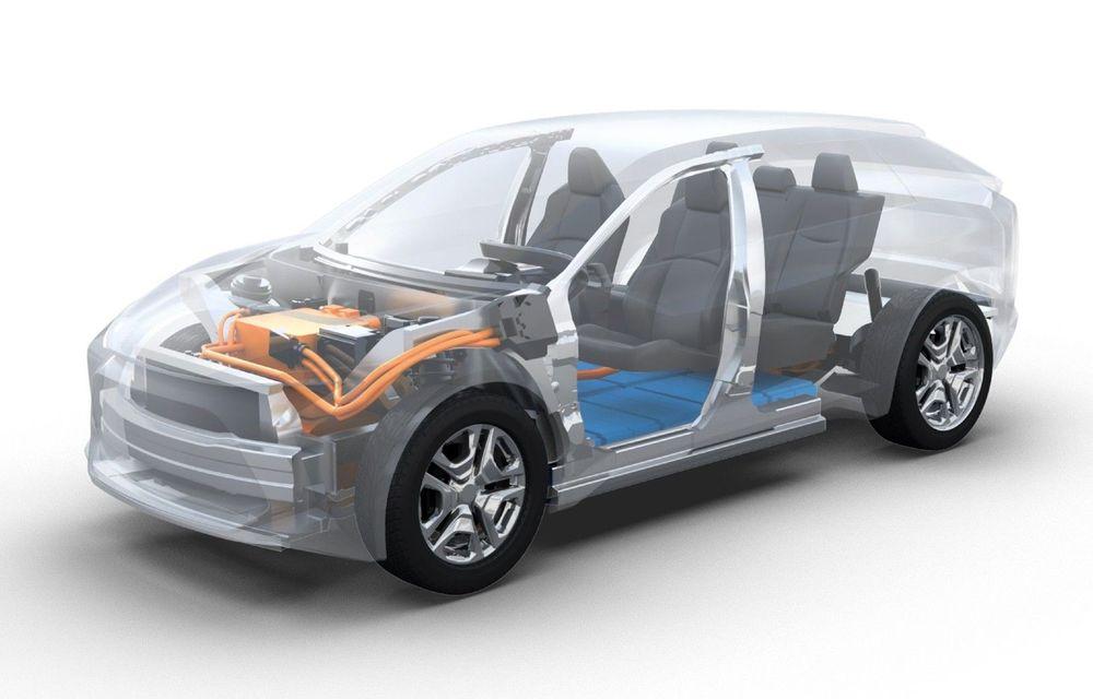 Subaru pregătește un SUV electric pentru Europa: dimensiuni similare cu Forester și lansare programată în 2021 - Poza 1