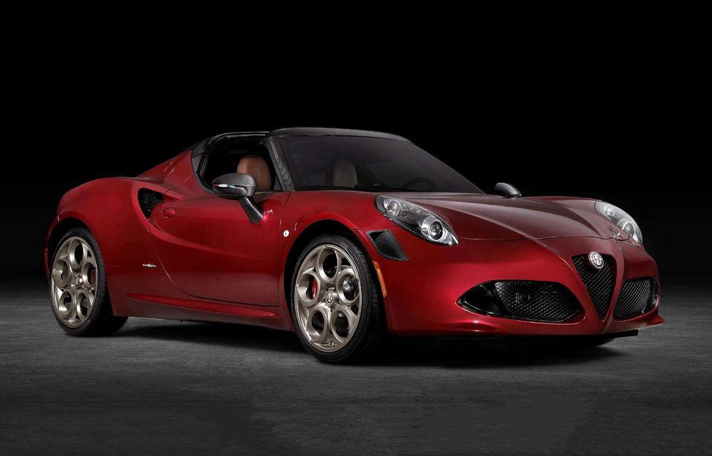 Alfa Romeo lansează ediția specială 4C Spider 33 Stradale Tributo: 33 de unități dezvoltate pentru piața din America de Nord - Poza 1