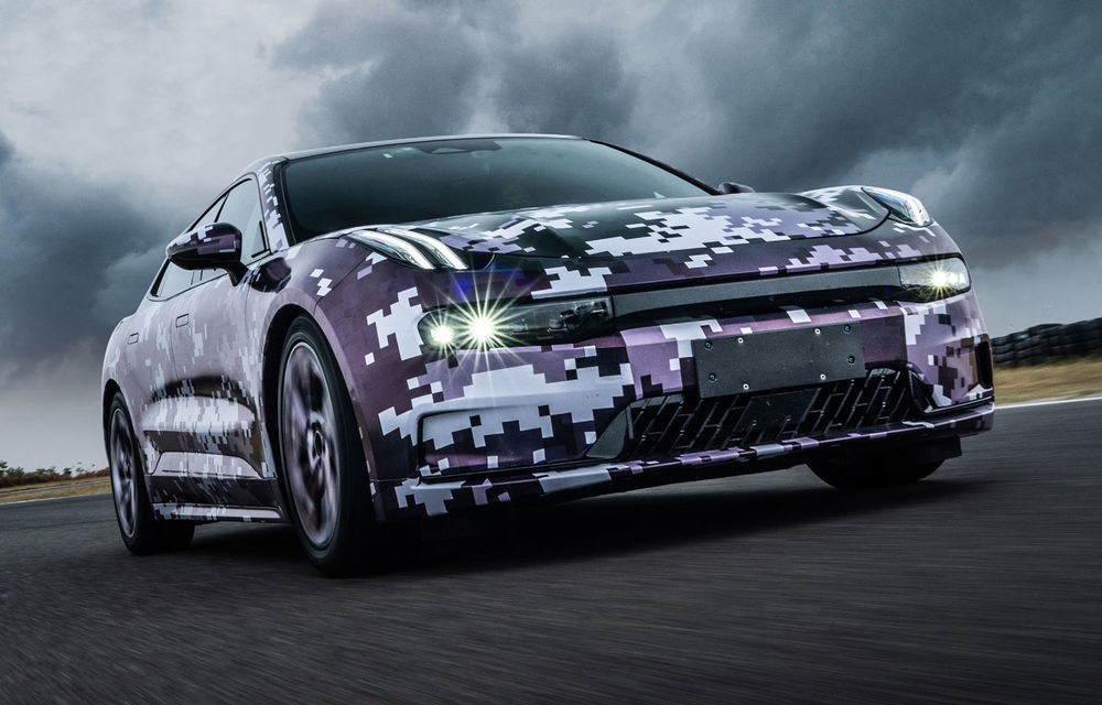 Primele imagini cu modelul electric Lynk&Co Zero: este dezvoltat pe noua platformă Geely care va fi folosită în curând și de Volvo - Poza 4