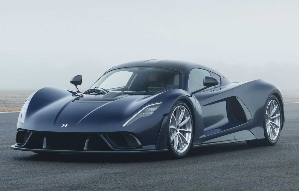 Hennessey a prezentat versiunea de serie a lui Venom F5: hypercar-ul cu peste 1.800 de cai putere va fi produs în 24 de unități - Poza 2
