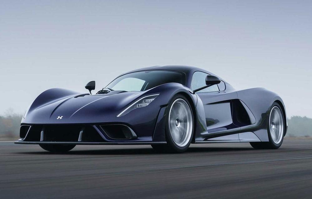 Hennessey a prezentat versiunea de serie a lui Venom F5: hypercar-ul cu peste 1.800 de cai putere va fi produs în 24 de unități - Poza 1