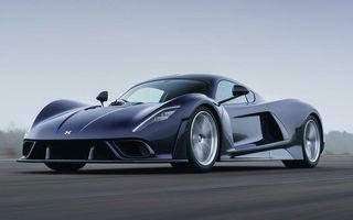Hennessey a prezentat versiunea de serie a lui Venom F5: hypercar-ul cu peste 1.800 de cai putere va fi produs în 24 de unități