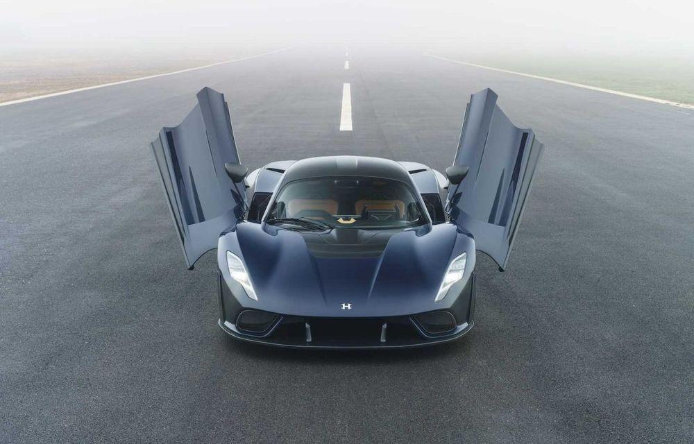 Hennessey a prezentat versiunea de serie a lui Venom F5: hypercar-ul cu peste 1.800 de cai putere va fi produs în 24 de unități - Poza 3