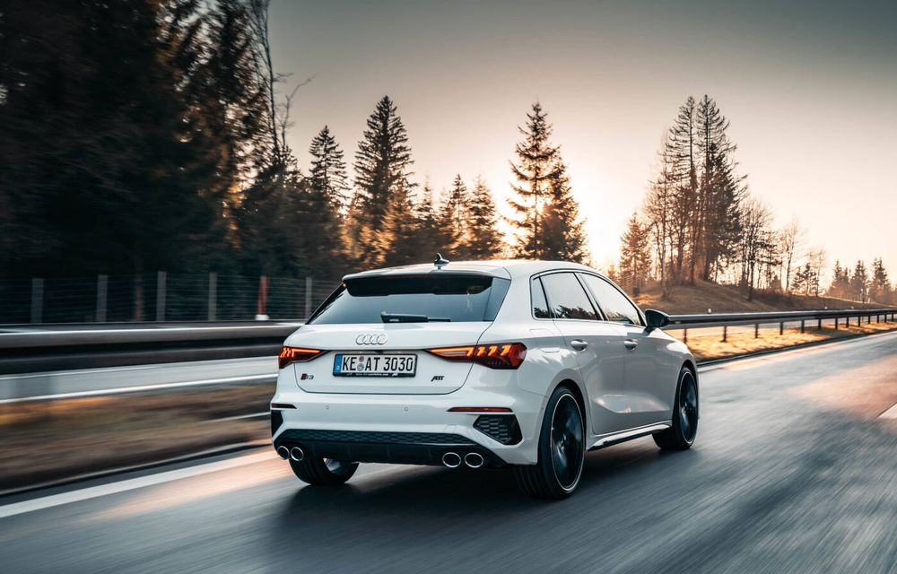 ABT lansează un pachet de performanță pentru Audi S3: 370 CP și 450 Nm pentru hatchback-ul german - Poza 10