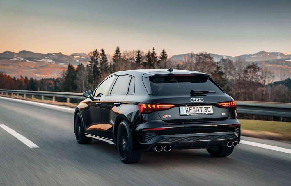 ABT lansează un pachet de performanță pentru Audi S3: 370 CP și 450 Nm pentru hatchback-ul german - Poza 5