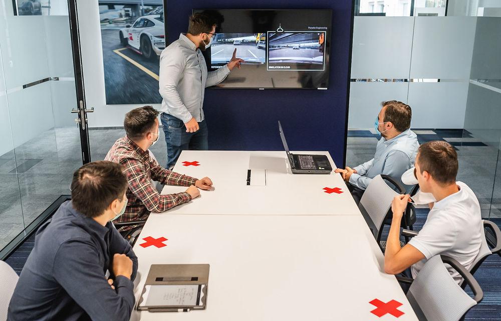 Adaptare la noile tehnologii: specialiștii de la Porsche Engineering România testează sisteme autonome cu aplicații de gaming - Poza 2