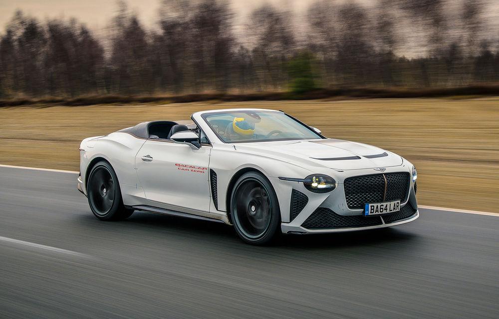 Bentley a început testele cu prototipul viitorului Mulliner Bacalar: modelul va fi produs în doar 12 exemplare - Poza 1