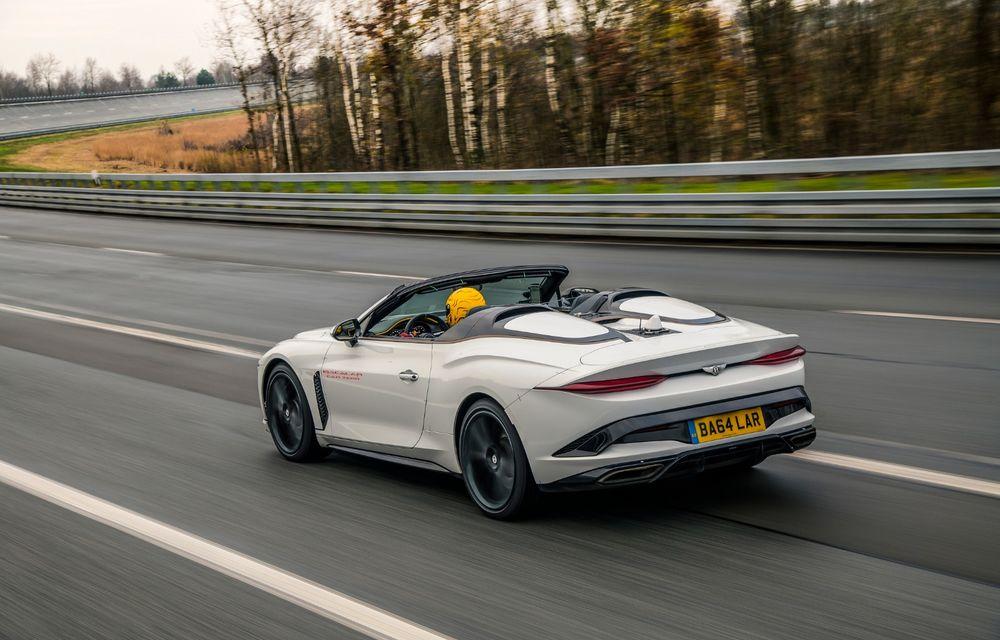 Bentley a început testele cu prototipul viitorului Mulliner Bacalar: modelul va fi produs în doar 12 exemplare - Poza 2