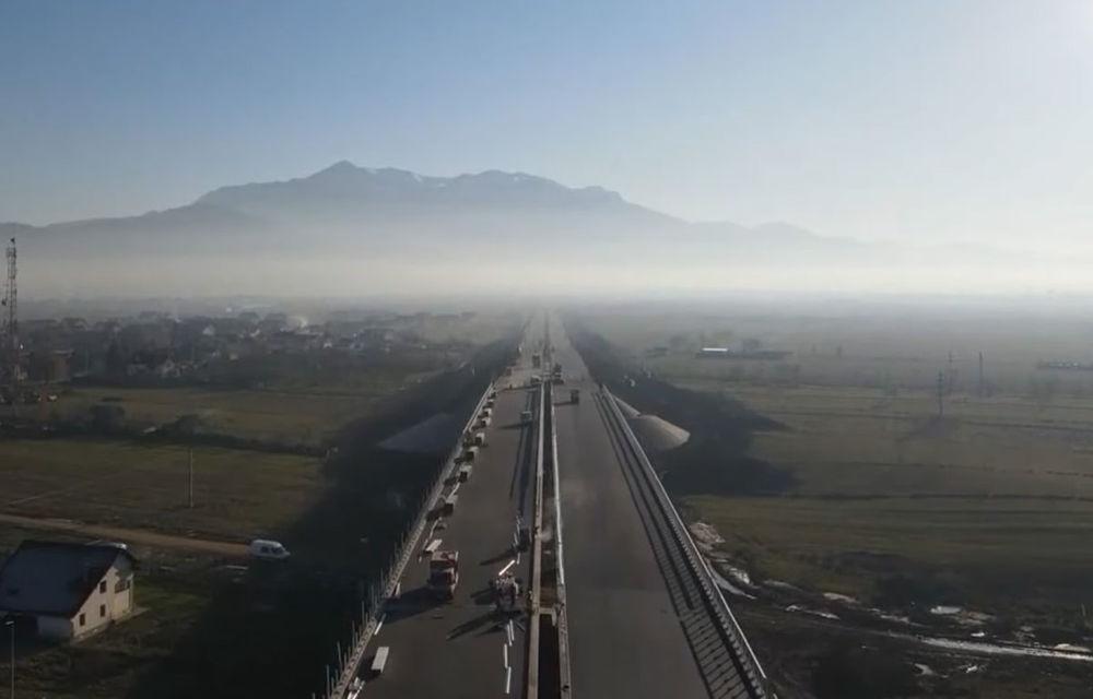 România inaugurează lotul Râșnov - Cristian din cadrul autostrăzii A3 București - Brașov: 6 kilometri care încep și se termină în DN73 - Poza 1