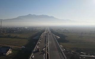 România inaugurează lotul Râșnov - Cristian din cadrul autostrăzii A3 București - Brașov: 6 kilometri care încep și se termină în DN73