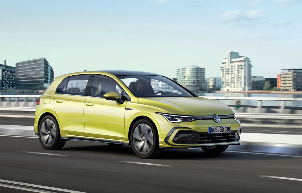Volkswagen Golf rămâne modelul preferat al europenilor: aproape 25.000 de unități înmatriculate în luna noiembrie. Dacia Sandero ocupă locul al optulea - Poza 1