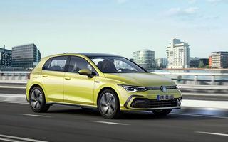 Volkswagen Golf rămâne modelul preferat al europenilor: aproape 25.000 de unități înmatriculate în luna noiembrie. Dacia Sandero ocupă locul al optulea