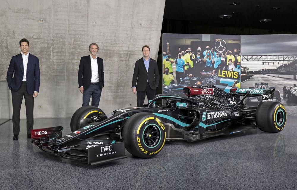 Mercedes face primul pas în spate la echipa de Formula 1: germanii rămân cu numai o treime dintre acțiuni, la fel ca Ineos și Toto Wolff - Poza 1