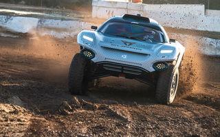 Cupra și ABT au început testele cu viitorul vehicul dezvoltat pentru competiția de rally-raid Extreme E: modelul electric oferă până la 540 de cai putere