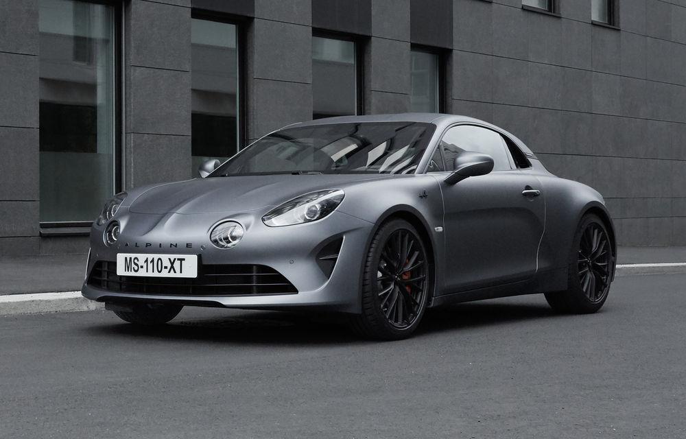 Alpine nu exclude pregătirea unor modele electrice de performanță: francezii ar putea utiliza platforma lui Renault Megane eVision - Poza 1