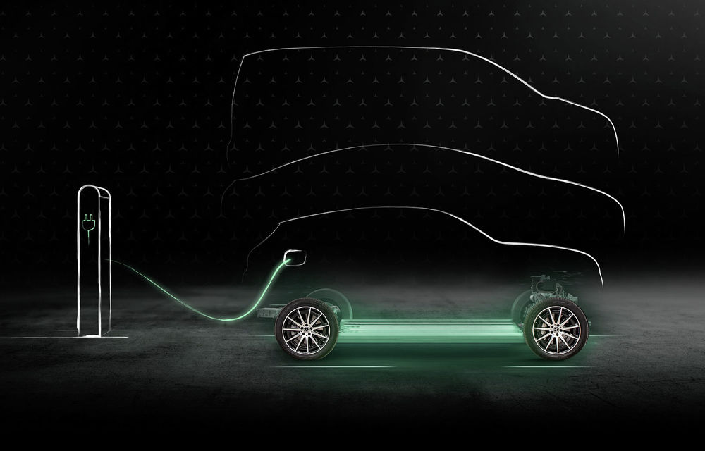 Primele teasere cu Mercedes-Benz EQS: sedanul electric cu autonomie de 700 de kilometri va avea software cu inteligență artificială și filtru HEPA la interior - Poza 3