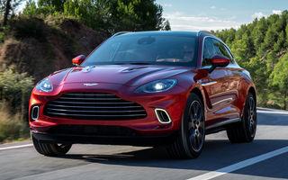 Aston Martin pregătește 10 lansări în următorii doi ani: SUV-ul DBX ar putea primi o versiune electrică sau hibridă