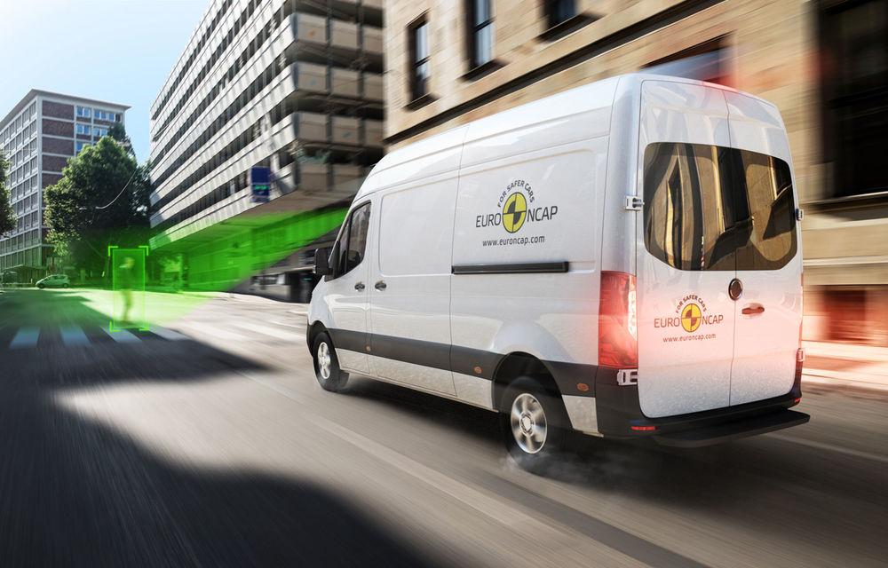 Euro NCAP a testat sistemele de asistență și siguranță de la 19 utilitare: 5 modele nu sunt recomandate pentru achiziție - Poza 1