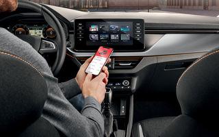 Skoda anunță integrarea aplicațiilor mobile într-una singură: MySkoda rămâne unica aplicație pentru șoferi