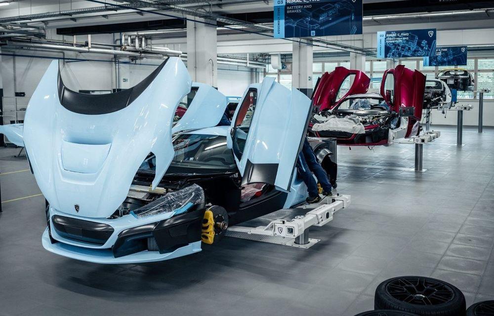 Rimac a început producția de pre-serie pentru C_Two: 6 exemplare ale hypercar-ului electric vor fi construite în Croația - Poza 1
