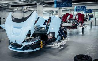 Rimac a început producția de pre-serie pentru C_Two: 6 exemplare ale hypercar-ului electric vor fi construite în Croația