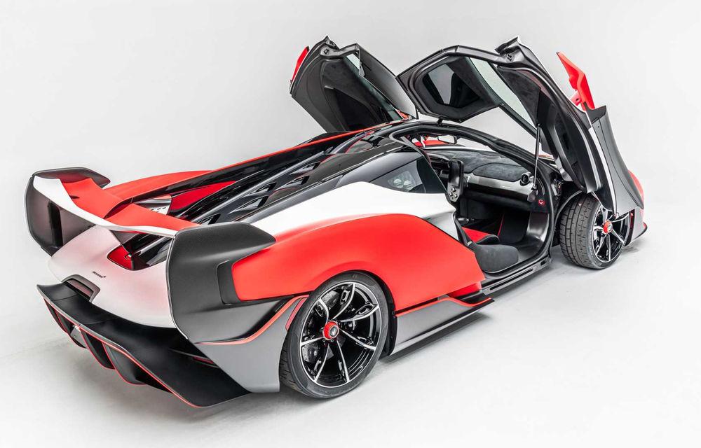 McLaren a prezentat noul Sabre: modelul va fi produs în doar 15 unități și va fi vândut exclusiv în SUA - Poza 5