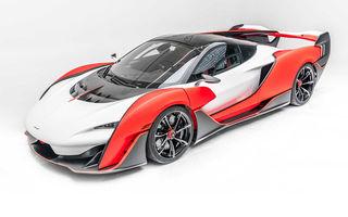McLaren a prezentat noul Sabre: modelul va fi produs în doar 15 unități și va fi vândut exclusiv în SUA