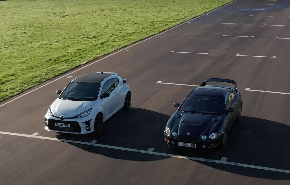 VIDEO: Trecut vs. prezent în confruntarea dintre Toyota Yaris și Toyota Celica - Poza 1