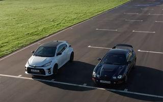 VIDEO: Trecut vs. prezent în confruntarea dintre Toyota Yaris și Toyota Celica