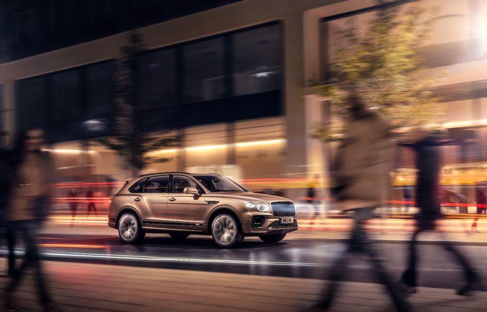 Bentley lansează Bentayga Hybrid facelift: 450 CP și autonomie de 50 de kilometri în regim electric - Poza 3