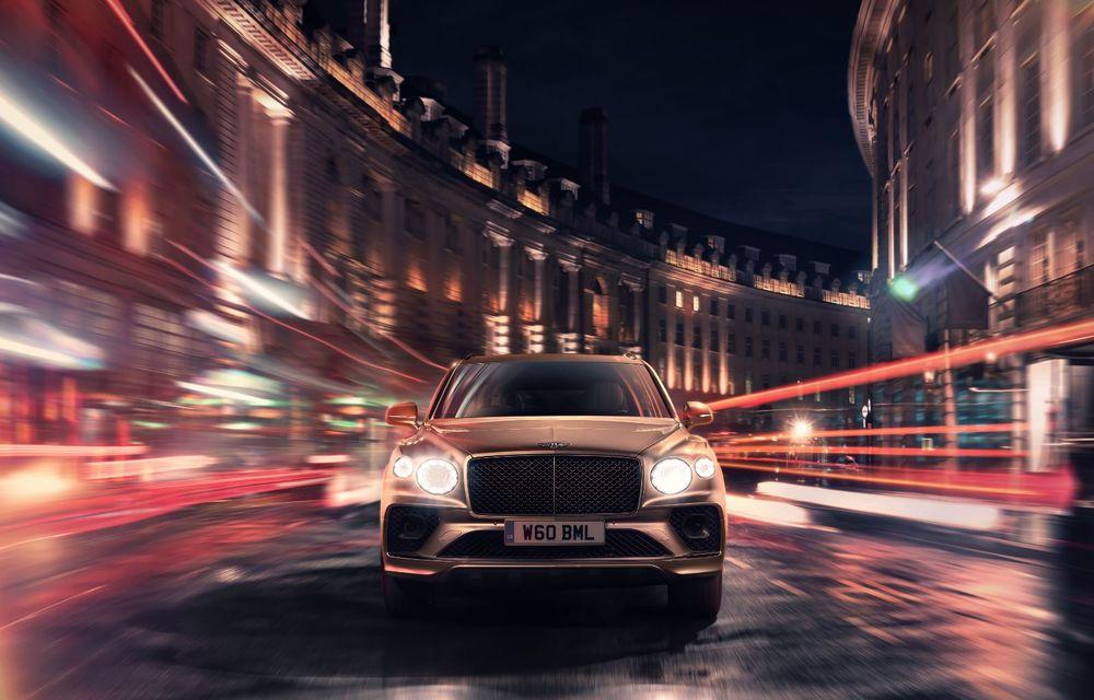 Bentley lansează Bentayga Hybrid facelift: 450 CP și autonomie de 50 de kilometri în regim electric - Poza 7