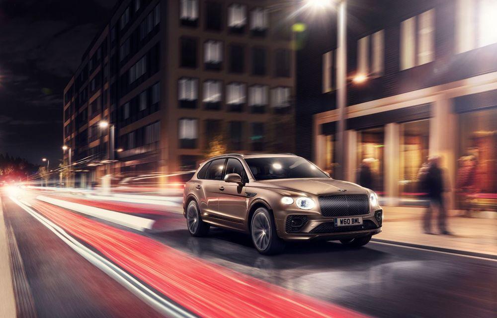 Bentley lansează Bentayga Hybrid facelift: 450 CP și autonomie de 50 de kilometri în regim electric - Poza 5