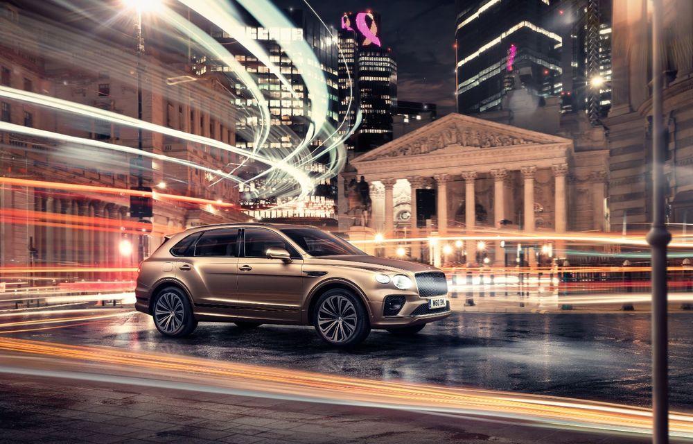 Bentley lansează Bentayga Hybrid facelift: 450 CP și autonomie de 50 de kilometri în regim electric - Poza 2