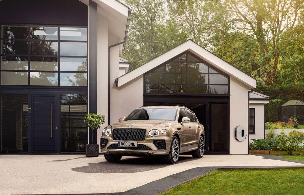Bentley lansează Bentayga Hybrid facelift: 450 CP și autonomie de 50 de kilometri în regim electric - Poza 9