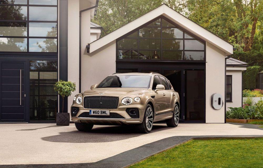 Bentley lansează Bentayga Hybrid facelift: 450 CP și autonomie de 50 de kilometri în regim electric - Poza 1