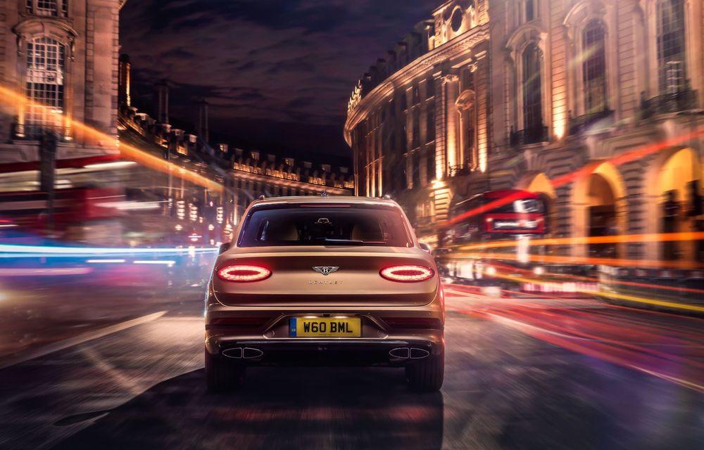 Bentley lansează Bentayga Hybrid facelift: 450 CP și autonomie de 50 de kilometri în regim electric - Poza 6