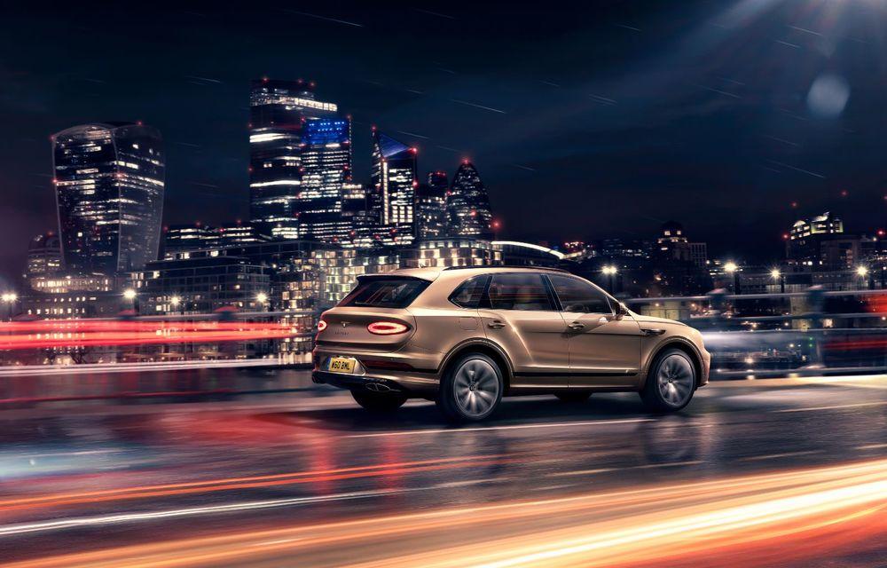 Bentley lansează Bentayga Hybrid facelift: 450 CP și autonomie de 50 de kilometri în regim electric - Poza 4