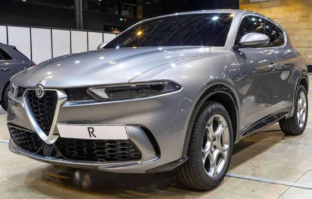 Informații neoficiale: Alfa Romeo va lansa versiunea de serie a SUV-ului Tonale în luna septembrie - Poza 1