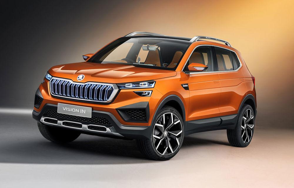 """""""Regele"""" SUV-urilor: Skoda Kushaq va fi prezentat oficial în luna martie în India - Poza 1"""