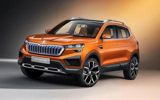 """""""Regele"""" SUV-urilor: Skoda Kushaq va fi prezentat oficial în luna martie în India"""