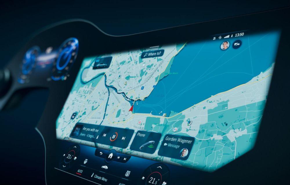 Mercedes prezintă noul sistem de infotainment MBUX Hyperscreen: display curbat de 141 cm - Poza 4