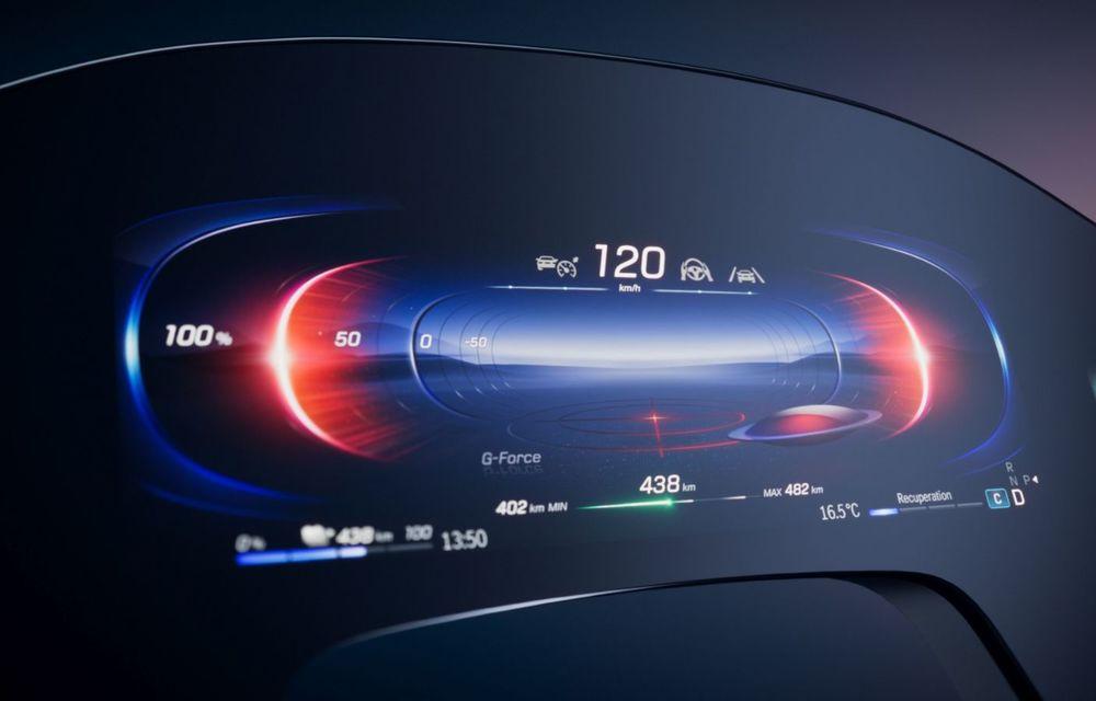 Mercedes prezintă noul sistem de infotainment MBUX Hyperscreen: display curbat de 141 cm - Poza 6
