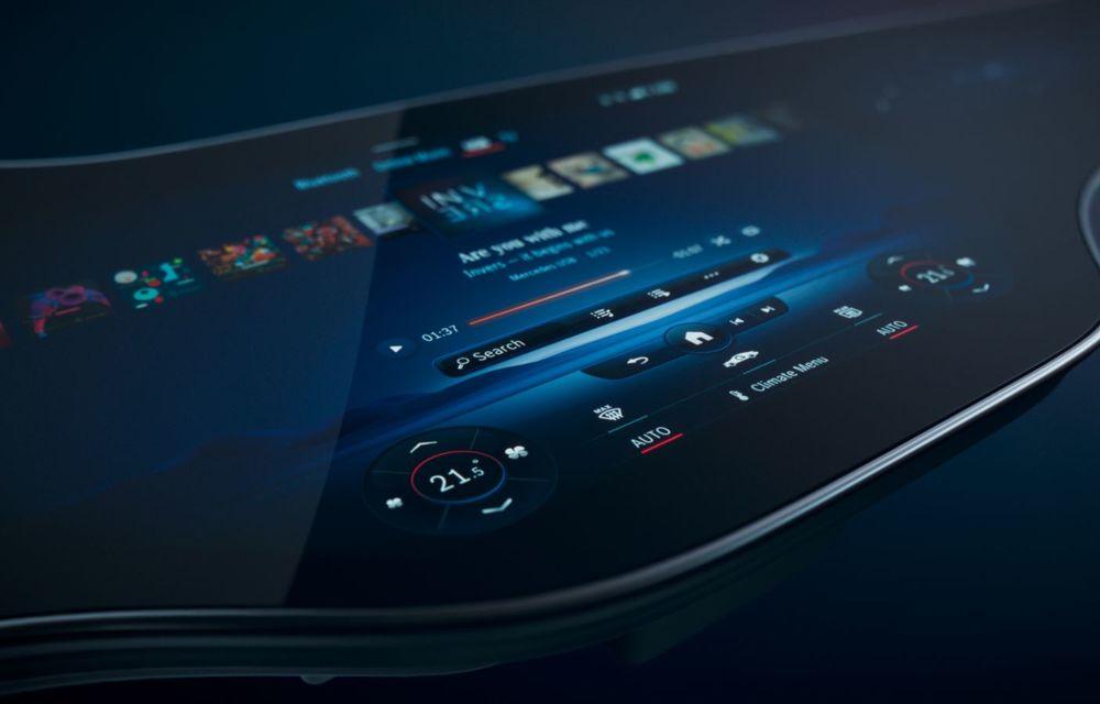 Mercedes prezintă noul sistem de infotainment MBUX Hyperscreen: display curbat de 141 cm - Poza 2