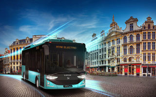 În România apar noi autobuze electrice: primăria din Dej a primit 20 de unități cu baterii BMW