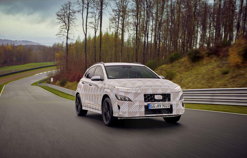 Primul SUV de performanță Hyundai: Kona N va avea motor turbo de 2 litri și transmisie automată - Poza 3