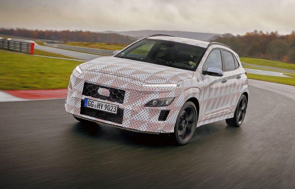 Primul SUV de performanță Hyundai: Kona N va avea motor turbo de 2 litri și transmisie automată - Poza 1